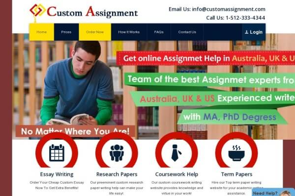 CustomAssignment.com