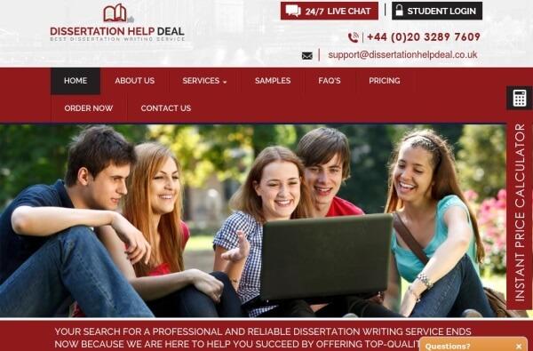 DissertationHelpDeal.co.uk