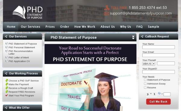 PhdStatementofPurpose.com