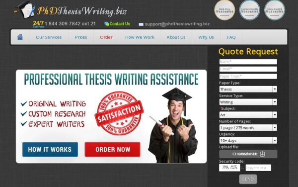 PhdThesisWriting.biz