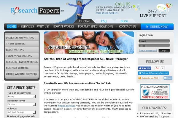 top research paper writing services of  researchpaperz net