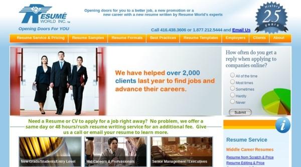 ResumeWorld.ca