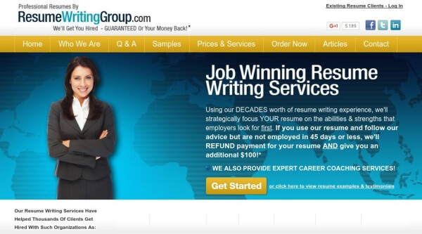 Online professional resume writing services reviews
