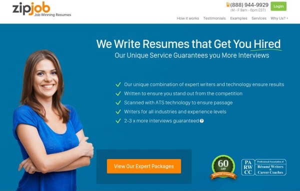 Top resume writing services for tech
