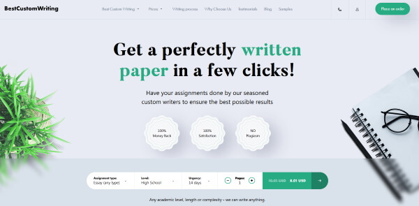 Top  Custom Writing Services Of  Bestcustomwritingcom