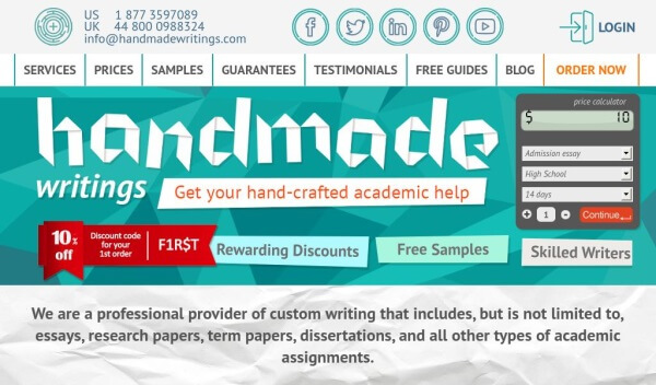 HandmadeWritings.com
