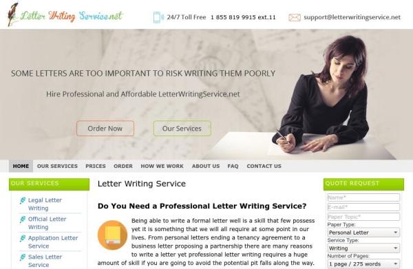 LetterWritingService.net