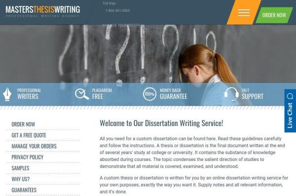 MastersThesisWriting.com