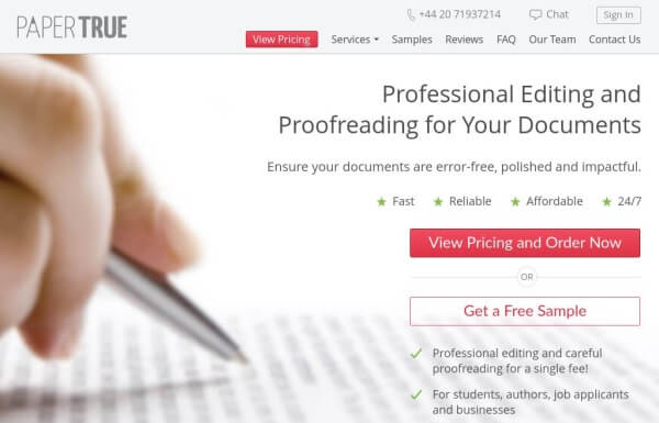free online proofreader and editor