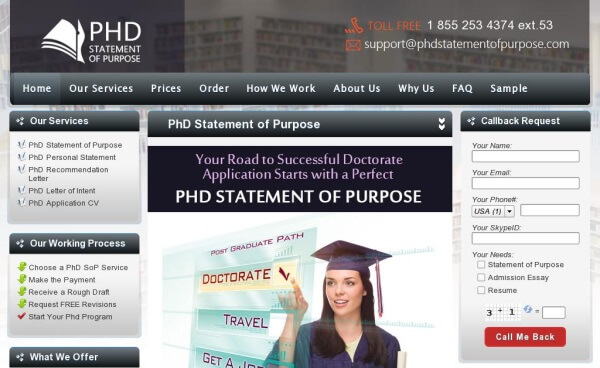 PhdStatementofPurpose.com