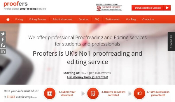 free proofreading services for students