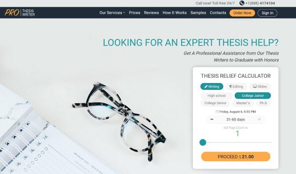 ProThesisWriter.com