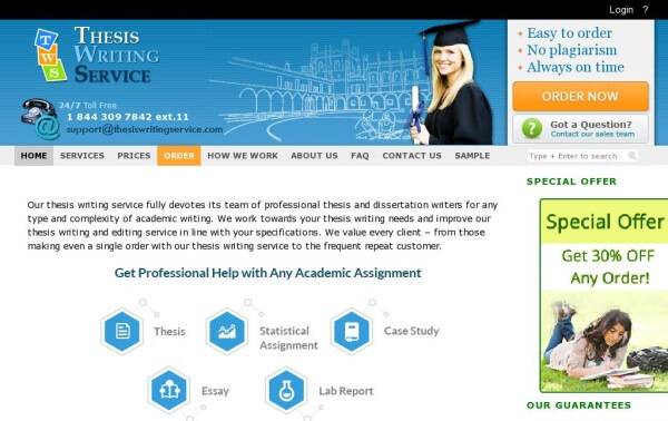 Top thesis writing service