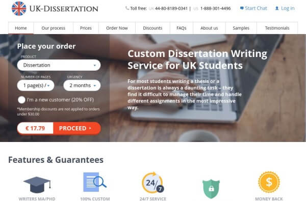 Dissertation checking services uk