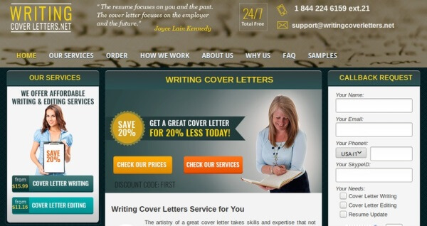 WritingCoverLetters.net